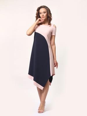 Платье двухцветное | 4257716