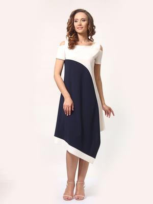 Платье двухцветное | 4257718
