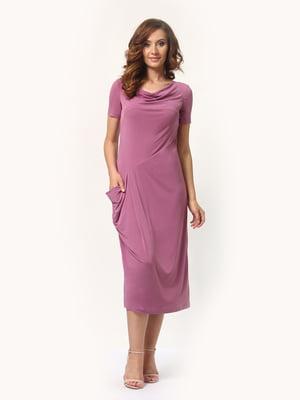 Платье сиреневое | 4257788