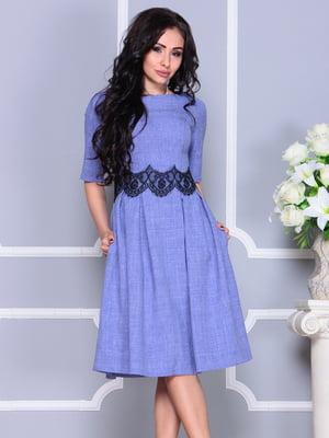Платье фиолетовое | 4261217