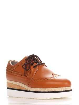 Туфли коричневые   4252695