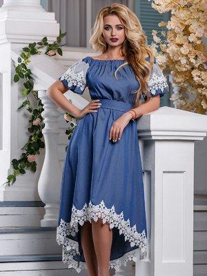 Платье синее | 4262971