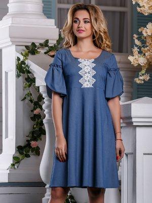 Платье синее | 4263016