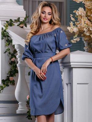 Платье синее | 4263023