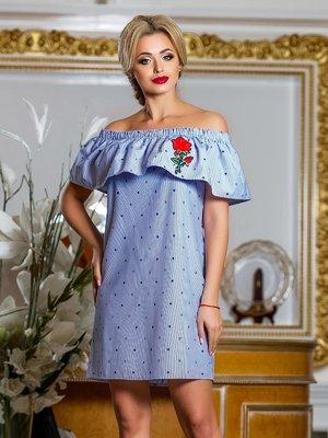 Сукня синя в смужку | 4263041