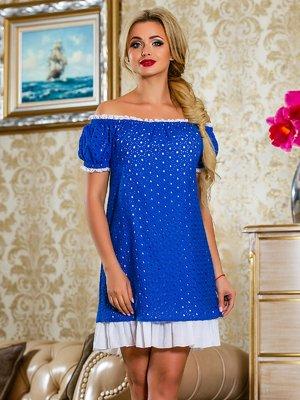 Платье синее | 4263046