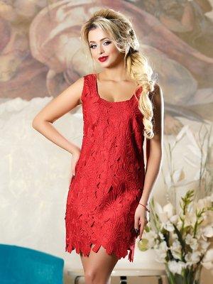 Платье красное | 4263087