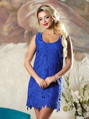 Платье синее | 4263088