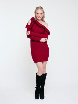 Сукня бордова | 4263706