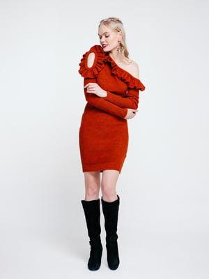 Сукня теракотова | 4263711