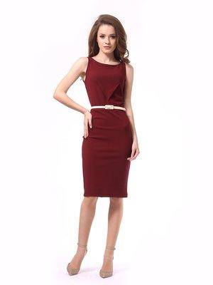 Платье бордовое   4249869