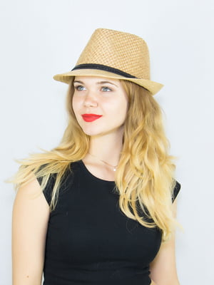 Шляпа бежевая   4265595