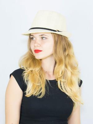 Шляпа светло-бежевая | 4265601