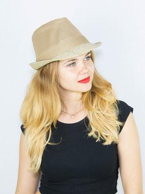 Шляпа бежевая | 4265552