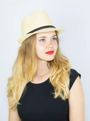 Шляпа бежевая | 4265553