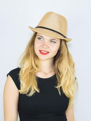 Шляпа бежевая   4265554