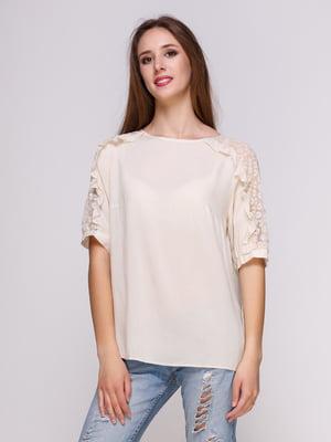 Блуза бежевая | 4262439