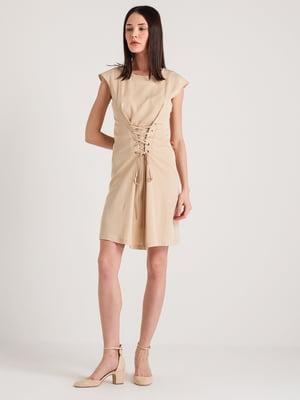 Сукня бежева | 4265355