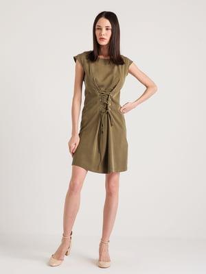 Платье цвета хаки | 4265356