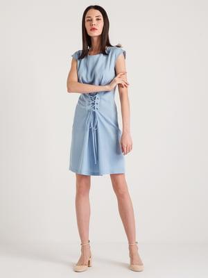 Платье голубое | 4265357