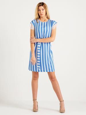 Сукня синя в смужку | 4265414