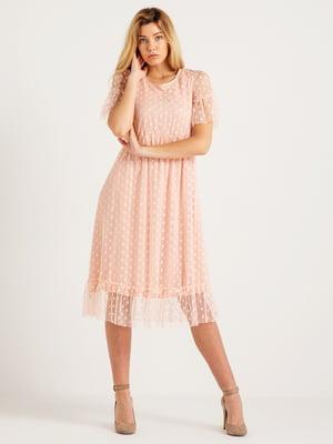 Сукня тілесного кольору | 4265424
