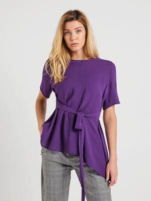 Блуза фиолетовая | 4265428