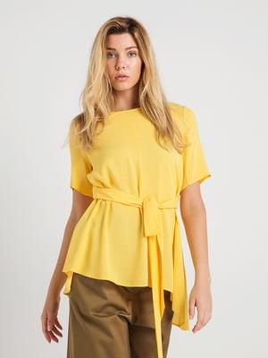 Блуза желтая | 4265435