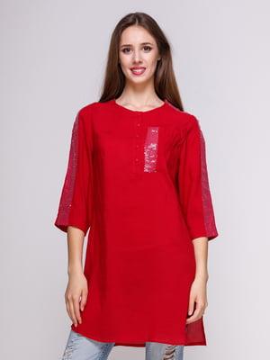 Блуза вишневого кольору | 4262450