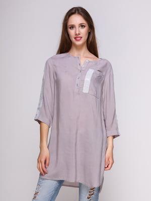 Блуза серая | 4262449