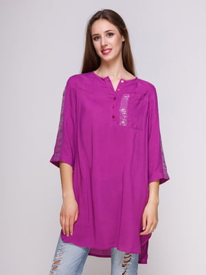Блуза лиловая | 4262448