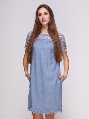 Платье светло-серое | 4262427