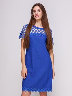 Платье синее | 4262426