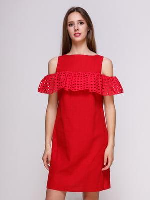 Сукня червона | 4262453