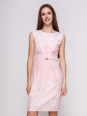 Сукня кольору пудри | 4262469