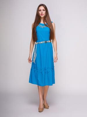 Сукня блакитна   4262475