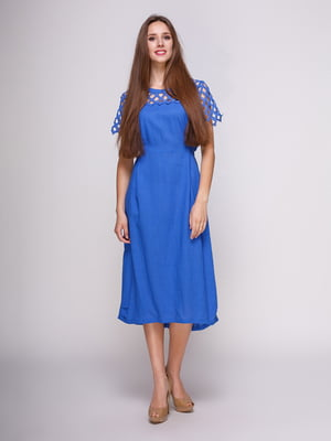 Платье синее | 4262396