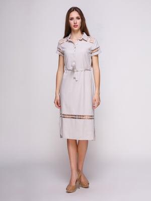 Платье серое | 4262423