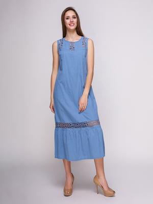 Сукня блакитна | 4262480