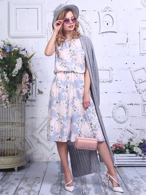 Сукня в квітковий принт | 4266987