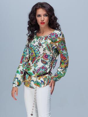 Блуза в принт | 4266993