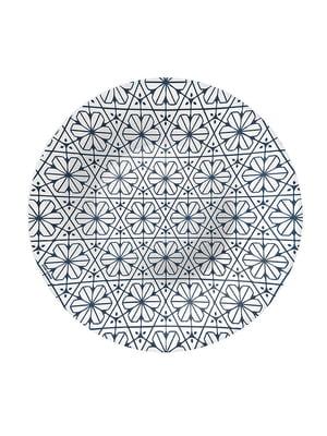 Тарілка глибока (23 см) Maiolica blue | 4266446