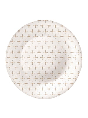 Тарілка десертна (21 см) Ceramic beige | 4266448