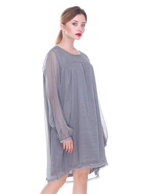 Платье серое | 4252299