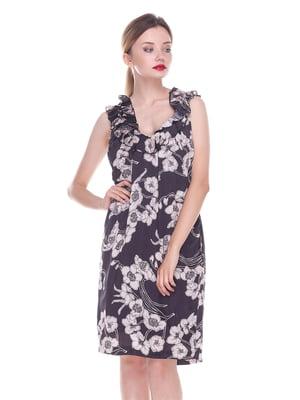 Платье темно-коричневое | 4252297