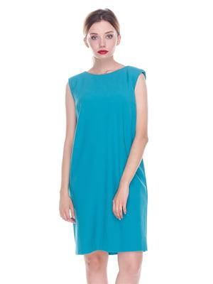 Платье бирюзовое | 4252292