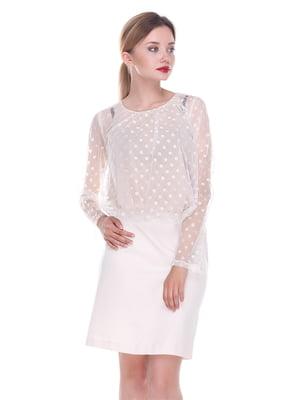 Платье светло-бежевое - Fairly - 4252307