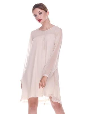 Платье бежевое | 4252308