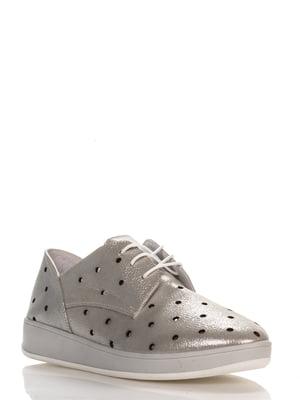 Туфли серебристые   4262653