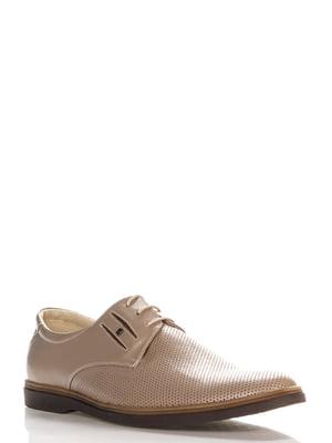 Туфли кофейного цвета | 4262658